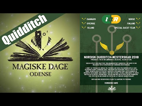Real Life Quidditch // Magiske Dage Odense 2018