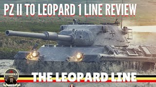 LEOPARD 1 LINE REVIEW WORLD OF TANKS BLITZ