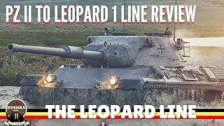 LEOPARD 1 LINE REVIEW WORLD OF TANKS BLITZ