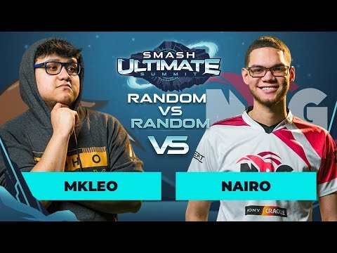 MkLeo vs Nairo - Random vs Random: GRAND FINALS - Smash Ultimate Summit thumbnail