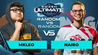 MkLeo vs Nairo - Random vs Random: GRAND FINALS - Smash Ultimate Summit