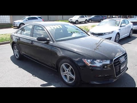 2012 Audi A6 2.0T Walkaround, Start up, Exhaust, Tour and Overview