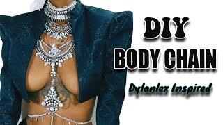 DIY Dylanlex Inspired Necklace / Body Chain Jewelry