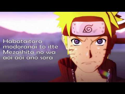 Video lagu Naruto bahasa inggris