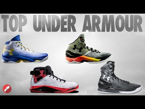 Top 5 Under Armour Shoes of 2016!