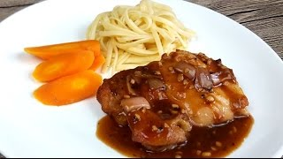Chicken Chop With Black Pepper Sauce (黑胡椒鸡扒)