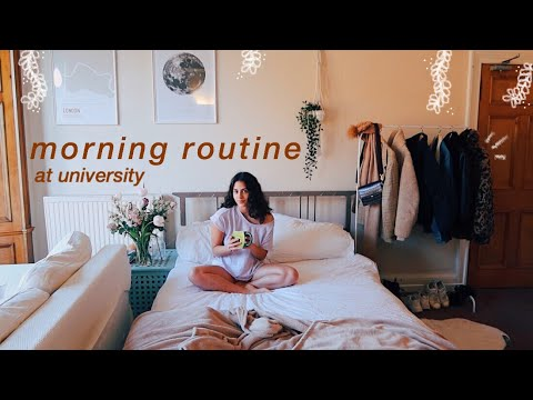 my university morning routine for a productive day 🌞