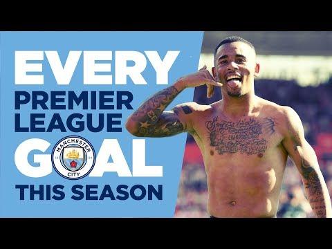 EVERY PREMIER LEAGUE GOAL | Man City | 2017/18 Season