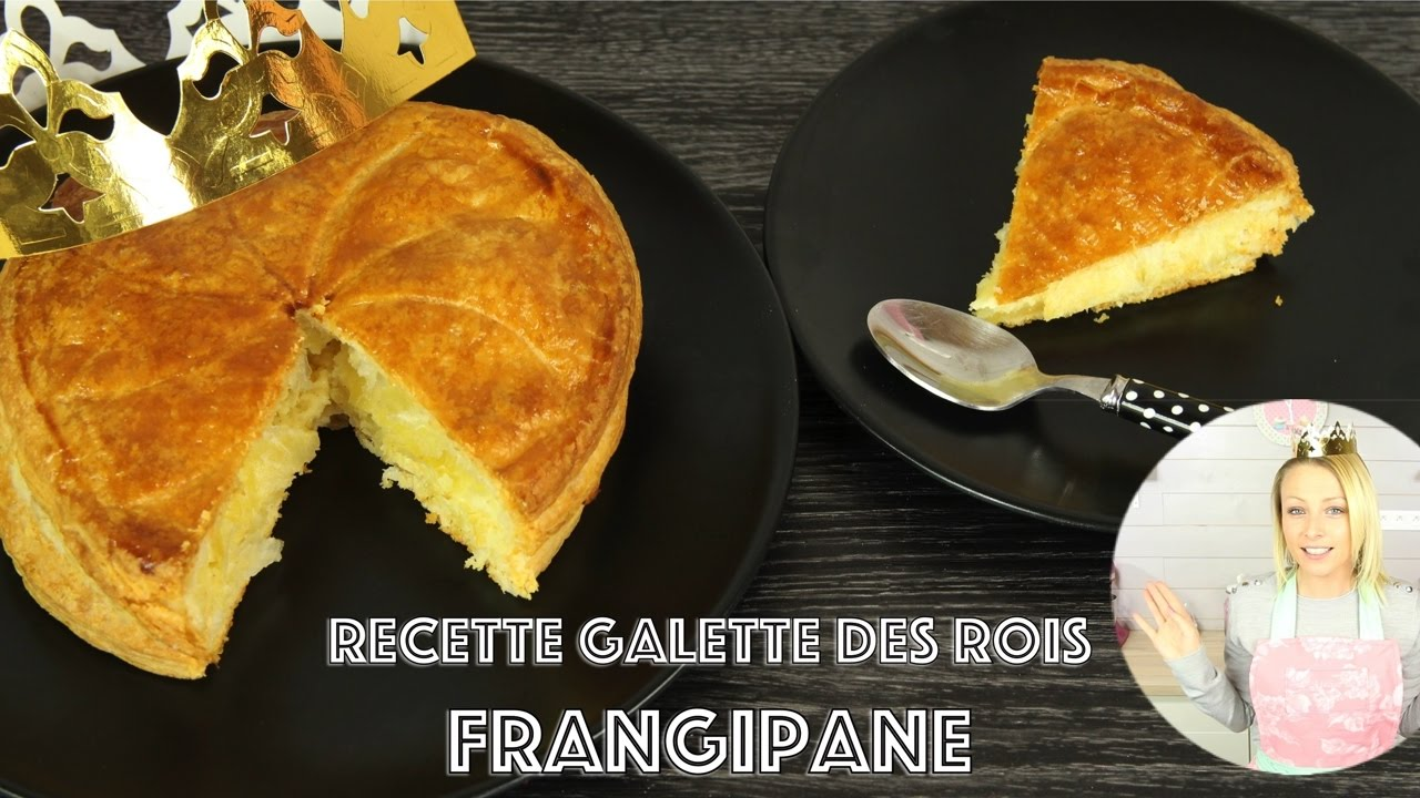 recette galette des rois frangipane p te feuillet e maison rapide youtube. Black Bedroom Furniture Sets. Home Design Ideas