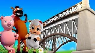 London Bridge fällt hinunter | deutsch Kinder Lied | Baby Reime | Nursery Song | London Bridge Rhyme