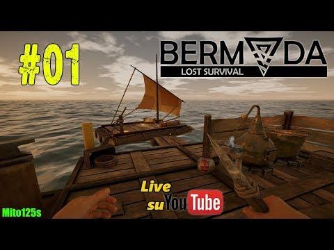 Nel mare su una scialuppa di salvataggio - Bermuda - Lost Survival #01