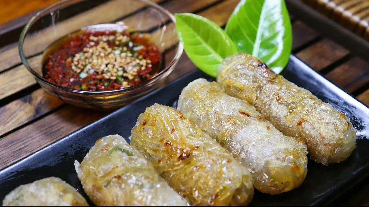 [김치잡채라이스페이퍼롤]김말이와군만두맛을 한번에 맛보세요!라이스페이퍼 요리/간식만들기/당면요리/양념소스만들기