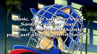 American Sonic X Intro [German Lyrics]