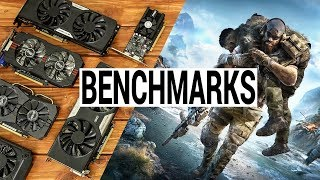Ghost Recon Breakpoint Benchmarks with Budget Graphics Cards