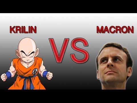 Macron VS Krilin