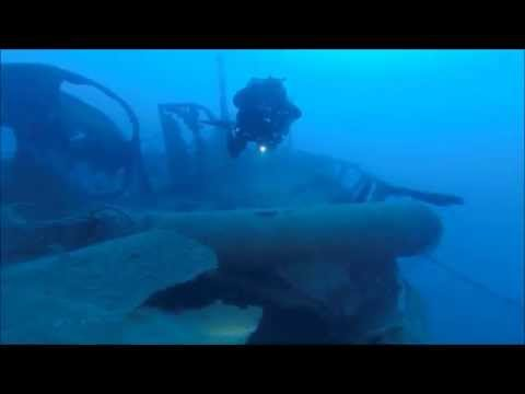 World War II Torpedo carrier wreck