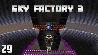 Sky Factory 3 EP29 Wither Farm Automation  - Nether Stars