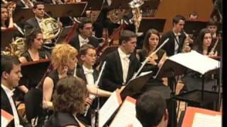 Sinfonía nº8. The Mountains of Mallorca de Derek Bourgeois - Banda de Música Xuvenil de Barro - Parte 2/3