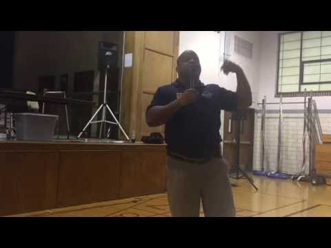 Musial Moments with The Sportsmanship Guy: Solomon Alexander at Ritenour Middle School