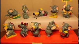 Слоны на пляже из серии «Die Funny Fanten im Cluburlaub» (1995), Киндер Сюрприз(Обзор игрушек из серии - Слоны на пляже из серии «Die Funny Fanten im Cluburlaub» (1995), Киндер Сюрприз. Ссылка по которой..., 2014-04-29T06:02:31.000Z)