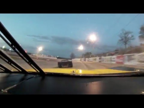 Dobbs Tire & Auto Centers In-Car Cam - Jake Piel Sportsman Feature at Lebanon I-44 Speedway 4/16/16