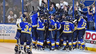 St. Louis Blues Playoff Overtime Goals (Up until 2019)