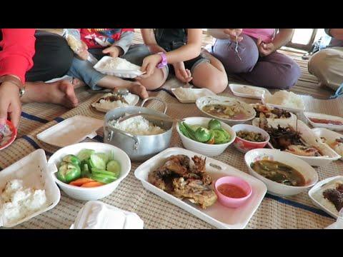 Lunch Break at Chamka Ta Sok Resort, Koun Domrey, Poipet, Banteay Meanchy Province