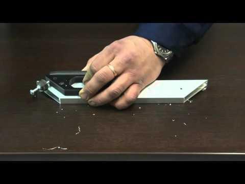 Мебельный кондуктор для дверей из алюминиевого профиля МК 8
