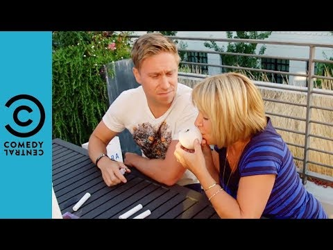 Russell Gets High With His Mum | Russell Howard And Mum