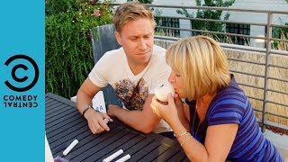 Russell Gets High With His Mum   Russell Howard And Mum