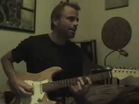 King Caldwellicus plays Crimson Guitar Lesson