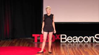 What people say when they don't know what to say | Adrianne Haslet-Davis | TEDxBeaconStreet
