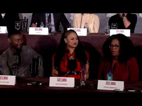 Selma: Full Press Conference - Oprah, Common,  David Oyelowo, Carmen Ejogo, Tim Roth