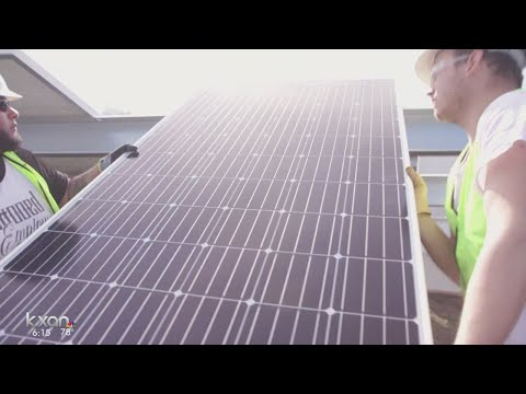 Texas' largest solar panel installation to power 50,000 homes in Austin