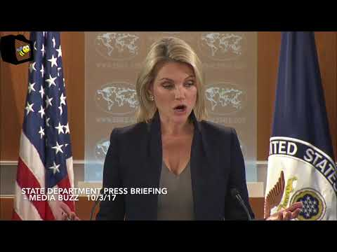 Heather Nauert Delivers State Department Press Briefing 10/3/17