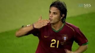루이스 피구 올리버칸 월드컵 마지막 경기(2006 독일…