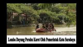 Lomba Dayung Perahu Karet Oleh Pemerintah Kota Surabaya 2014