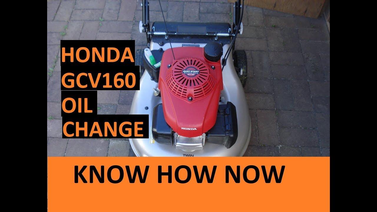 Honda Gcv160 Engine Oil | Zef Jam