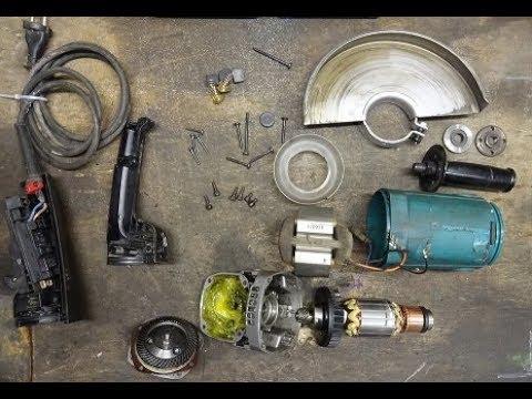 УШМ Makita 9069 разборка, ремонт, сборка