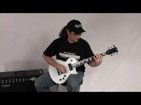 ESP Eclipse-II (Snow White) \u0026 Mesa Boogie Rectoverb 1x12 Com