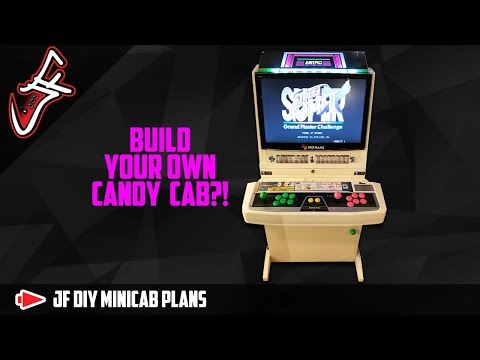 DIY Mini Arcade Plans