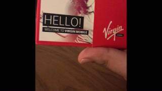 VIRGIN MOBILE UAE IS FINALLY HERE .. UNBOXING THE PACKAGE