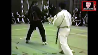 Võ Sĩ Pencat Silat Có Lối Đánh Khó Chịu, Chỉ Thích QUÉT Tảo Địa = Karate vs Pencat Silat