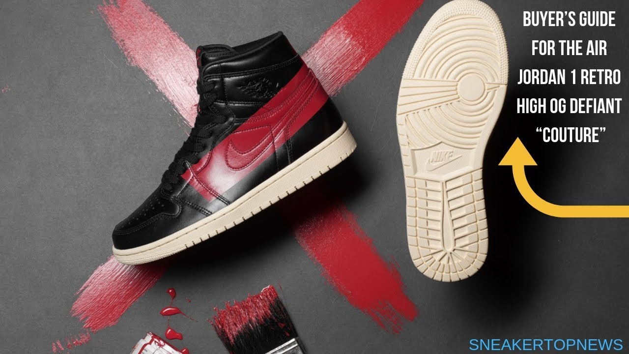"""Buyer s Guide For The Air Jordan 1 Retro High OG Defiant """"Couture ... 0a6eee08f"""