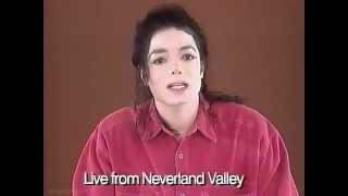 Michael Jackson Statement Live From Neverland 1993