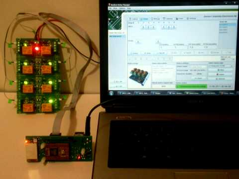 DRM software and Denkovi Wi-Fi 802.11 b/g Eight Channel Relay Board