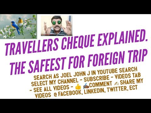 Travellers Cheque, Advantage &  Disadvantages