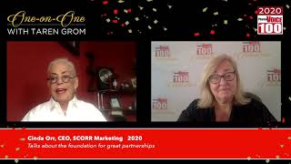 Cinda Orr, SCORR Marketing – 2020 PharmaVOICE 100 Celebration