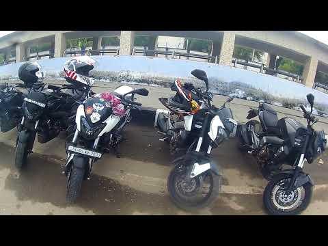 Group ride Dominar 400 Close call Delhi to Manesar(Aravalli hills) Motto to Tech