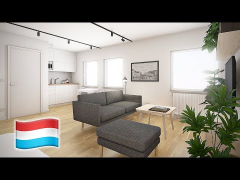 Studio in Luxembourg (-ish) 🇱🇺 op Lëtzebuergesch 33sqm apartment
